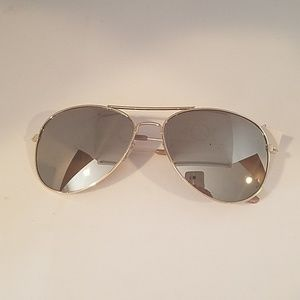 Other - Silver mirror AVIATORS small size